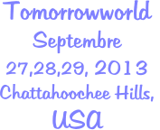 Tomorrowworld Septembre  27,28,29, 2013 Chattahoochee Hills,  USA